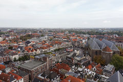 City scape of the Historic Dutch City of Zwolle Stock Photos