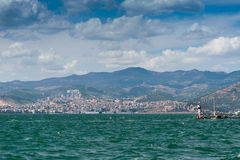 City scape Izmir Royalty Free Stock Photography