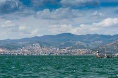 City scape Izmir Royalty Free Stock Photography