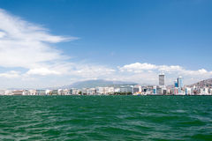 City scape Izmir Royalty Free Stock Images
