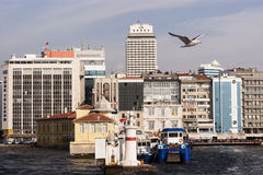City scape of izmir. Royalty Free Stock Images