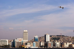 City scape of izmir. Royalty Free Stock Photo
