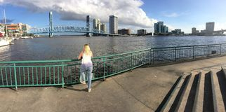 Downtown Jacksonville Fl Stock Photography