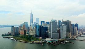 City scape in Manhattan, New York Royalty Free Stock Photo