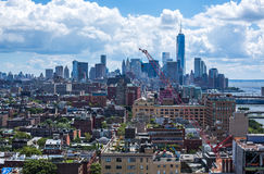 City scape in Manhattan, New York Stock Images