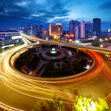 City Scape. Of the nanchang china Royalty Free Stock Photo