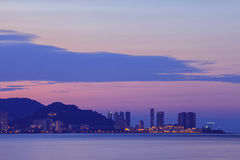 City Scape Penang Malaysia Royalty Free Stock Images