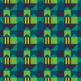 City scape seamless pattern. Suitable for screen, print and other media Stock Photography