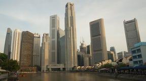 City Scape - Singapore Stock Photos