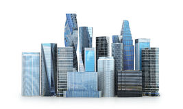 City scape, skyscrapers . Stock Photos