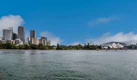 City scape of Sydney and the Opera House, Australia royalty free stock images