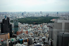 City scape of Tokyo Stock Photo