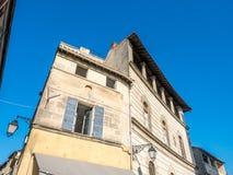 City scene in Arles, France Royalty Free Stock Photos