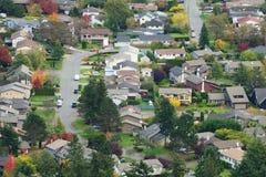 City scene in autumn Stock Photo