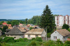 City scene, Filekovo, Slovakia Stock Photography