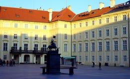 City scene. Praga city scene in sunset royalty free stock photo