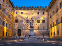 City Scene in Siena, Italy royalty free stock photo