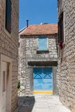 City scene in stari grad Royalty Free Stock Photography