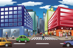 City Scene Stock Image