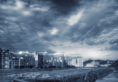 City scenery Royalty Free Stock Photo