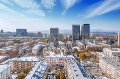 City scenery of beijing in sunny day Stock Photos