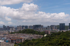 City scenery -gongbei area from high Royalty Free Stock Photo