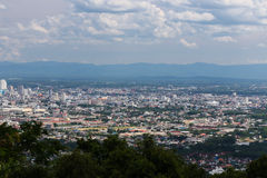 City scenery from Hat Yai public park view Royalty Free Stock Images