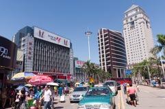 City scenery - lianhua street Gongbei Stock Image