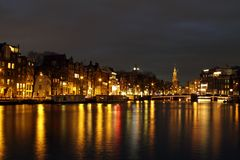 City scenic from Amsterdam Netherlands Stock Image