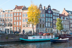 City scenic from Amsterdam in Netherlands. City scenic from Amsterdam in the Netherlands Stock Image
