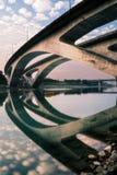 City scenic of bridge Stock Photography