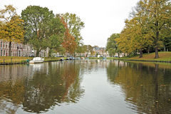 City scenic in Haarlem the Netherlands Stock Images