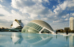 City of science and arts. Valencia's city of arts an science Stock Photography