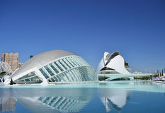 City of science - Valencia Spain Stock Photo