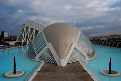 City of Sciences in Valencia, Spain Stock Photos