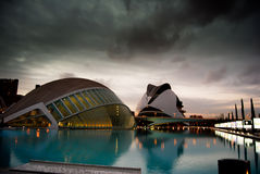 City of Sciences in Valencia, Spain Royalty Free Stock Images