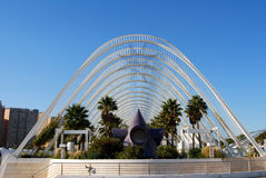 City of Sciences in Valencia, Spain Royalty Free Stock Image