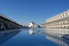 City of Sciences in Valencia, Spain Stock Images
