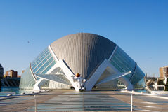 City of Sciences in Valencia, Spain Royalty Free Stock Photos