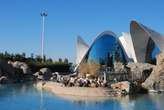 City of Sciences in Valencia, Spain Stock Photography