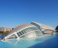 City of Sciences in Valencia, Spain Stock Photos