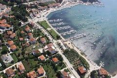 City by sea Royalty Free Stock Photos