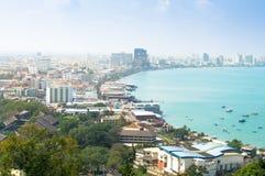 City in the sea Stock Photo
