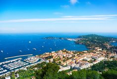 City and the sea in Nice Stock Photos