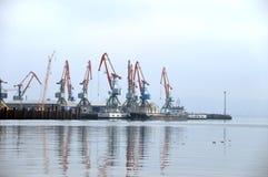 City sea port Royalty Free Stock Photography