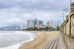 City by the sea. City on the shores of the South China Sea Royalty Free Stock Photos