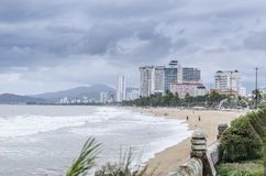 City by the sea. City on the shores of the South China Sea Stock Photography