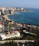 City sea water blue Stock Image