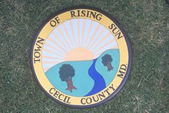 City seal, Cecil County, Maryland Royalty Free Stock Photo