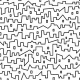 City - seamless vector pattern Royalty Free Stock Photos